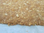 oat wafer - close up!