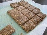 Granola bars - lots of goodness in these babies!